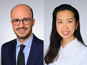 Dr. Alexander C. Rokohl und Hanhan Liu, Fotos: Michael Wodak