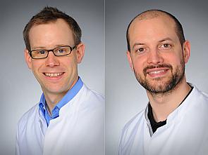 Prof. Dr. Paul Brinkkötter und Prof. Dr. Roman-Ulrich Müller, Fotos: Christian Wittke