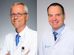 Prof. Dr. Gereon Fink und Prof. Dr. Michael Schroeter, Foto: Christian Wittke / Klaus Schmidt