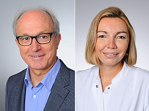Prof. Dr. Gerd Fätkenheuer und Dr. Isabelle Suárez, Fotos: Michael Wodak