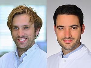Dr. Henning Grüll und Dr. Dr. Philipp Schommers (v.l.), Foto: Michael Wodak