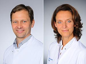 Prof. Dr. Dr. Thomas Schmidt und Univ.-Prof. Dr. Christiane Bruns, Foto: Michael Wodak