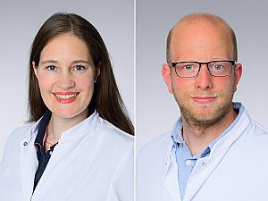 Dr. Julia Fischer und Dr. Sebastian Theobald, Foto: Michael Wodak