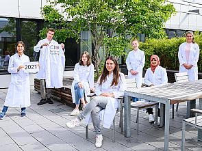 Sechs Schülerinnen und ein Schüler nehmen 2021 an der CIO Summer Academy teil. Foto: Michael Wodak