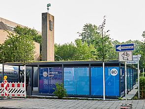 Das neue Gebäude des Infektionsschutzzentrums, Foto: Michael Wodak