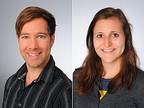 Dr. Dr. Hans Zempel und Sarah Bachmann, Foto: Klaus Schmidt / Michael Wodak