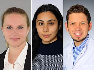 Sophia Sobesky, Laman Mammadova und Dr. Sven Borchmann (v.l.), Foto: privat/Michael Wodak/Christian Wittke