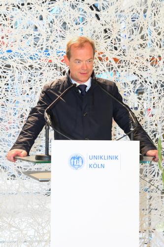 Prof. Dr. Michael Hallek, Foto: Uniklinik Köln