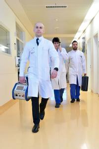 Cardiohelp-ECMO, das kleinste tragbare Herz-Lungen-Unterstützungssystem der Welt