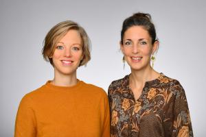 Dr. Anna Gundert und Dr. Antje-Christin Knopf, Foto: Michael Wodak