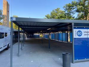 Infektionsschutzzentrum Uniklinik Köln, Foto: Stefan Michels